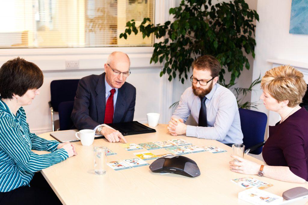 Team discussion facilitated by Jude Bainbridge Hamilton
